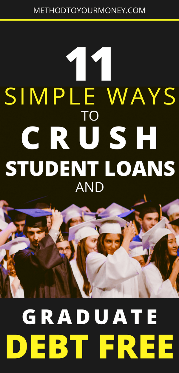 11 simple tips to help you avoid student loan debt, graduate debt free and start your life on a firm financial foundation.