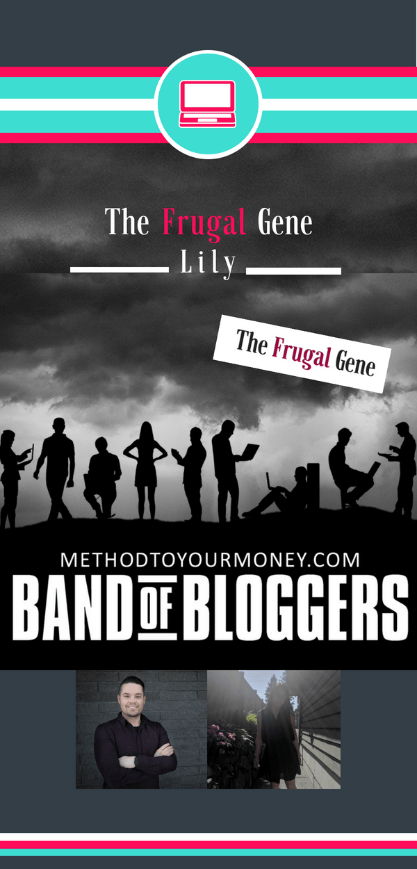 For beginners and experienced bloggers, ideas and tricks for successful writing, SEO, & tools to make money can be easy to find but hard to distill. Band of Bloggers doesn't just give the best blogging tips, but also insightful personal wisdom and ideas from the best bloggers in the business. Today's featured blogger is Lily from The Frugal Gene.