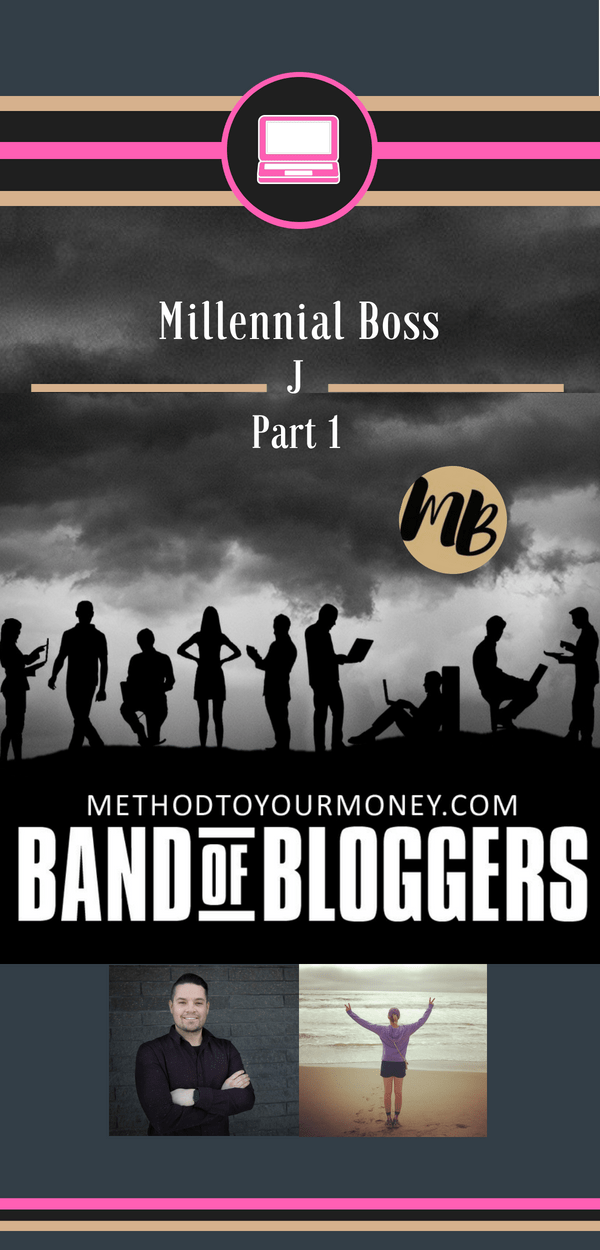 For beginners and experienced bloggers, ideas and tricks for successful writing, SEO, & tools to make money can be easy to find but hard to distill. Band of Bloggers doesn't just give the best blogging tips, but also insightful personal wisdom and ideas from the best bloggers in the business. Today's featured blogger is J from Millennial Boss.