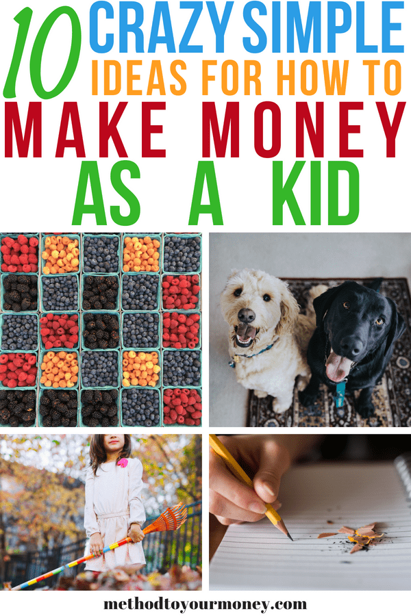 Simple, easy and fast ideas for parents to show their children how to start DIY businesses to make extra cash, Ideas for in the summer, in the winter and everything in between! Perfect for learning how to make money as a kid.