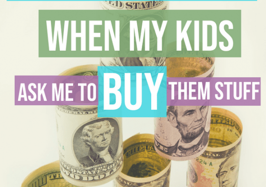 Check out my methods saying yes to my kids and for fun learning tips families can use to help in teaching all about money management. Parents, try being funny when teaching your kids about money!